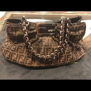 2a1ed4d505 Gorgeous custom made dress Authentic Fendi purse in brand new condition ...